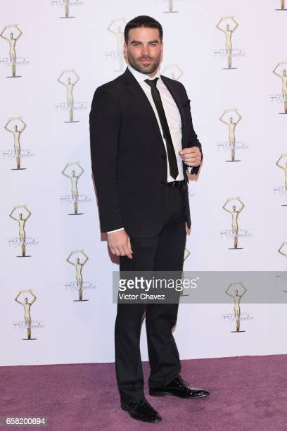 Alejandro Nones attends Premios Tv y Novelas 2017 at Televisa San Angel on March 26 2017 in Mexico City Mexico