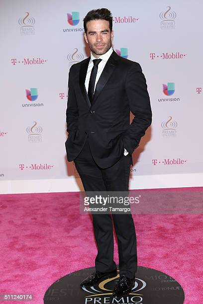 Alejandro Nones attends Univision's 28th Edition of Premio Lo Nuestro A La Musica Latina on February 18 2016 in Miami Florida