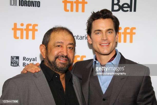 Alejandro Patiño and Matt Bomer attend the Papi Chulo Premiere during 2018 Toronto International Film Festival at TIFF Bell Lightbox on September 8...