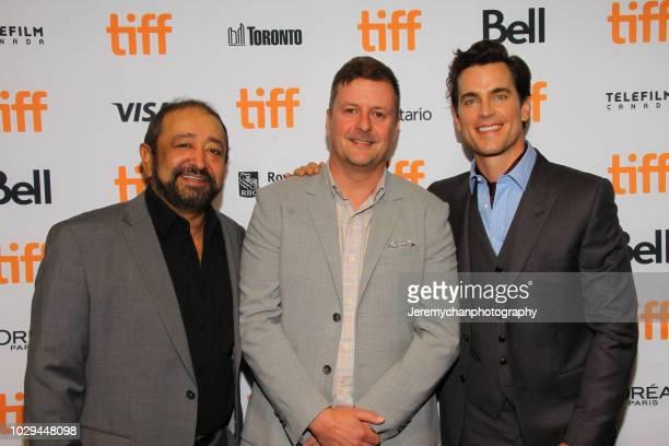 Alejandro Patiño John Butler and Matt Bomer attend the Papi Chulo Premiere during 2018 Toronto International Film Festival at TIFF Bell Lightbox on...