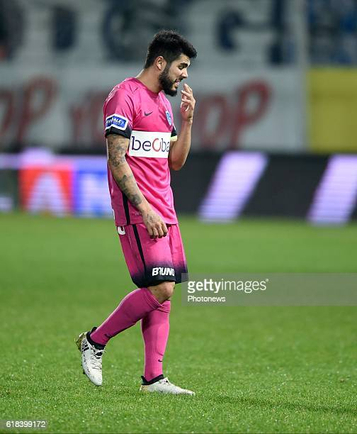 Alejandro Pozuelo midfielder of KRC Genk disappointed pictured during Jupiler Pro League match between RCS Charleroi and KRC GENK on October 26 2016...