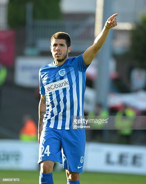 Alejandro Pozuelo midfielder of Krc Genk pictured during UEFA Europa League third qualifying round 2nd Leg match between Cork City FC and KRC Genk...