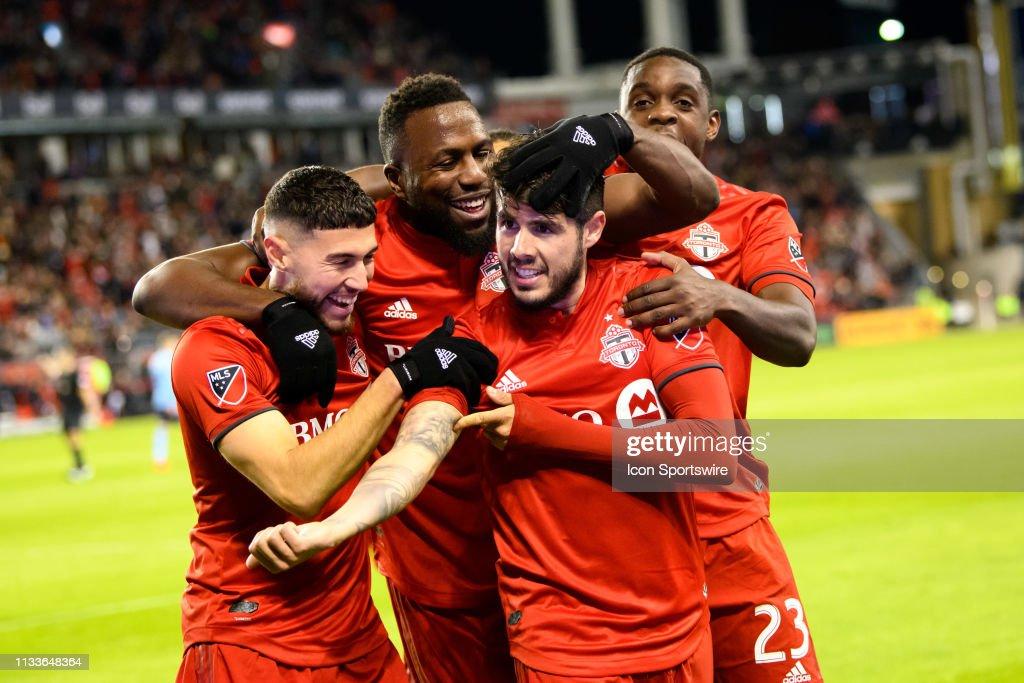 SOCCER: MAR 29 MLS - New York City FC at Toronto FC : News Photo