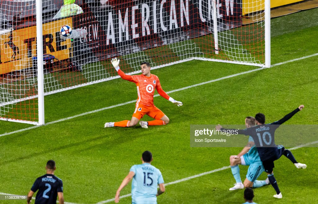 SOCCER: APR 19 MLS - Minnesota United FC at Toronto FC : News Photo
