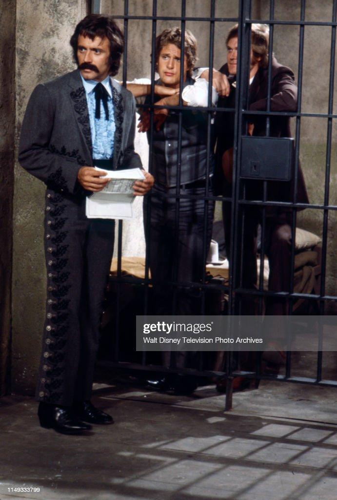 Alejandro Rey, Ben Murphy, Roger Davis Appearing On 'Alias Smith And Jones' : News Photo