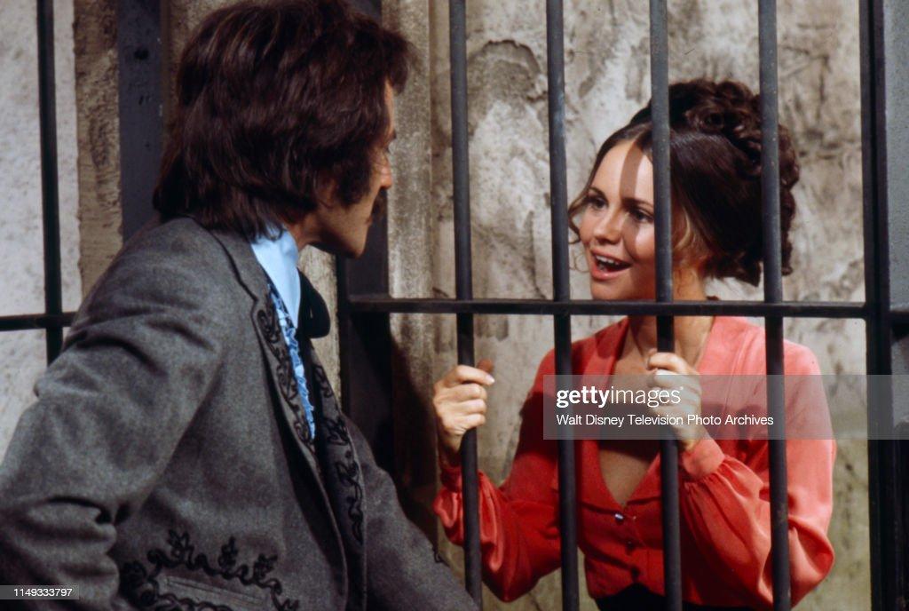 Alejandro Rey, Sally Field Appearing On 'Alias Smith And Jones' : News Photo