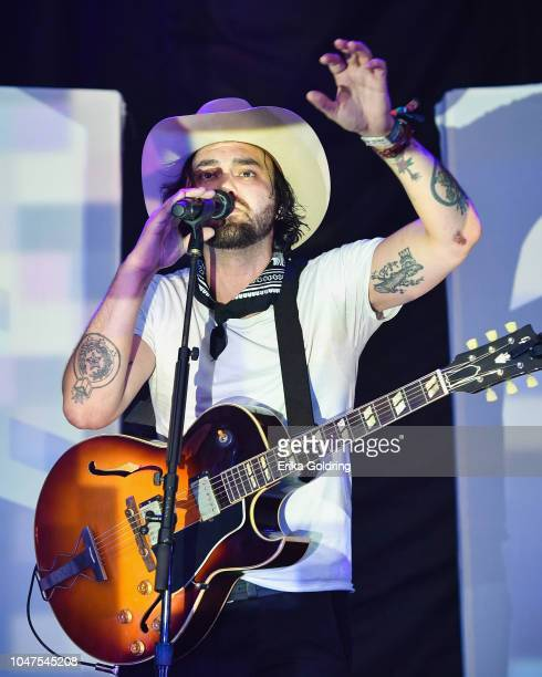 Alejandro Rose Garcia of Shakey Graves performs on day 3 of Austin City Limits Festival at Zilker Park on October 7 2018 in Austin Texas