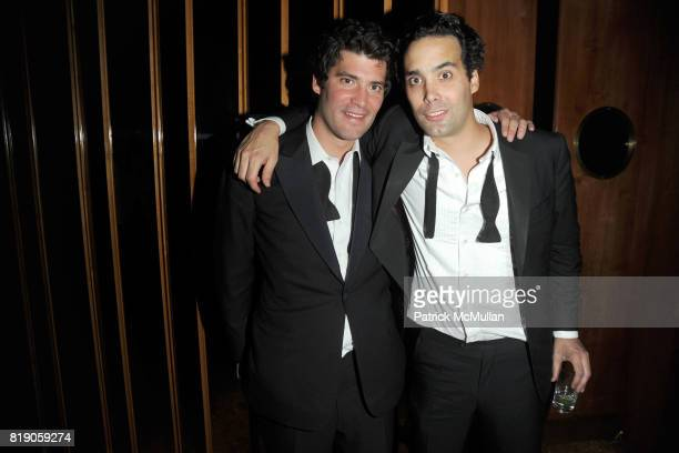 Alejandro Santo Domingo and Andres Santo Domingo attend The Unofficial After Party for THE METROPOLITAN MUSEUM OF ART'S Spring 2010 COSTUME INSTITUTE...