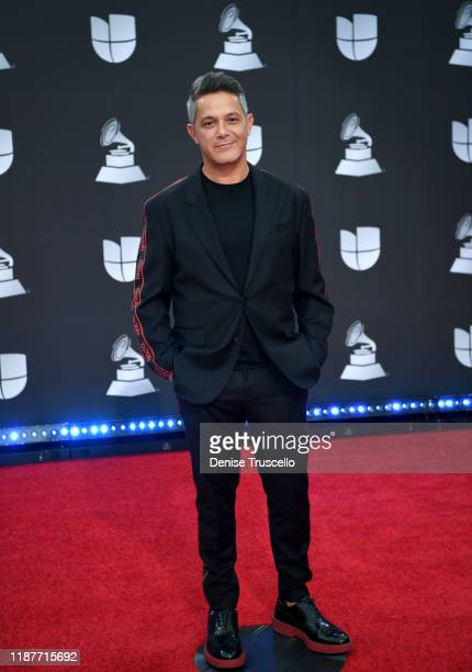 Alejandro Sanz attends the 20th annual Latin GRAMMY Awards at MGM Grand Garden Arena on November 14, 2019 in Las Vegas, Nevada.