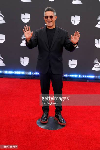 Alejandro Sanz attends the 20th annual Latin GRAMMY Awards at MGM Grand Garden Arena on November 14 2019 in Las Vegas Nevada