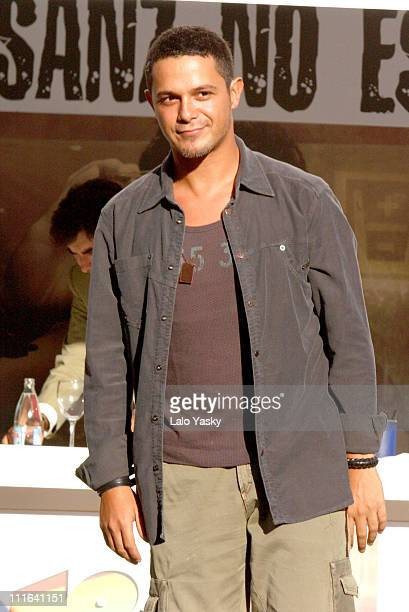 Alejandro Sanz during Alejandro Sanz Store Appearance and 'No es lo Mismo' Album Signing September 5 2003 at El Corte Ingles General Store in Madrid...