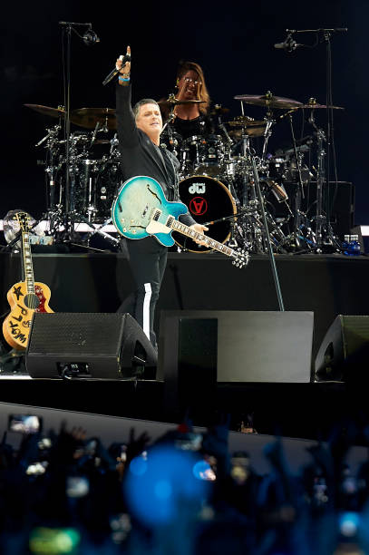 ESP: Alejandro Sanz Concert In Madrid
