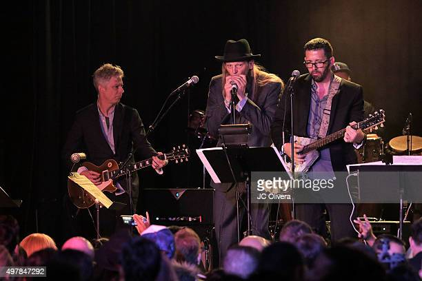 Alejandro Sanz performs onstage during ASCAP BMI SESAC LOS PRODUCERS Charity Concert Gala at Fremont Country Club on November 18 2015 in Las Vegas...