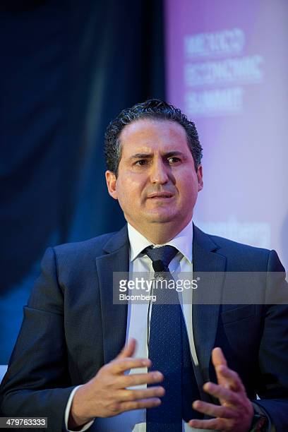 Alejandro Schtulmann head of research at Emerging Markets Political Risk Analysis speaks at the Bloomberg Mexico Economic Summit in Mexico City...