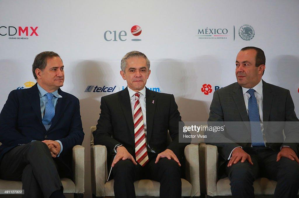 F1 Grand Prix of Mexico Circuit Inauguration