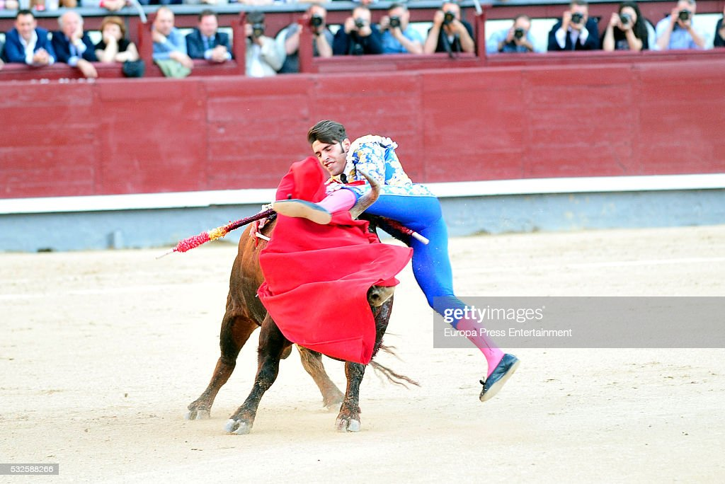 Celebrities Attend Bullfighting In Madrid