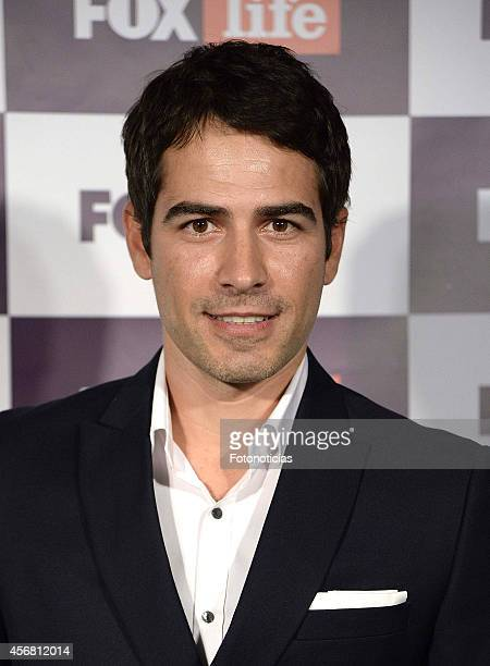 Alejandro Tous attends Fox Life channel cocktail presentation at Club Pinar on October 7 2014 in Madrid Spain