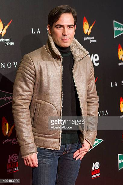 Alejandro Tous attends 'La Novia' Madrid Premiere on December 1 2015 in Madrid Spain