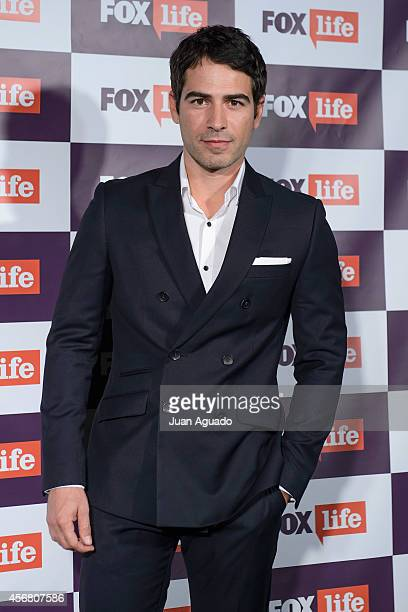 Alejandro Tous attends the Fox Live new channel cocktail presentation at Pinar Club on October 7 2014 in Madrid Spain