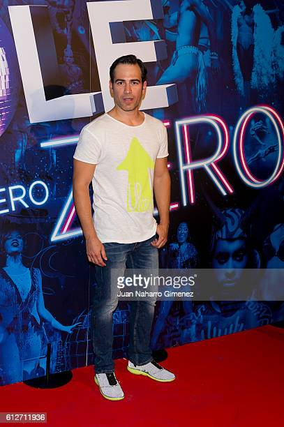 Alejandro Tous attends 'The Hole Zero' premiere at Calderon Theater on October 4 2016 in Madrid Spain