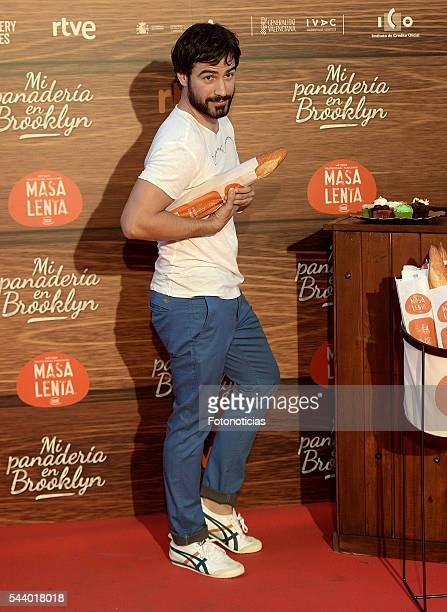Alejandro Tous attends the 'Mi Panaderia de Brooklyn' premiere at Capitol cinema on June 30 2016 in Madrid Spain