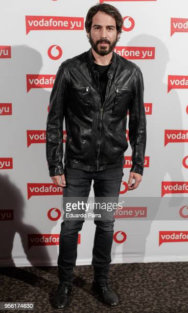 Alejandro Tous attends the Pablo Lopez concert photocall at La Riviera disco on May 8 2018 in Madrid Spain