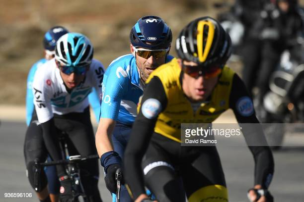 Alejandro Valverde Belmonte of Spain and Team Movistar / during the 98th Volta Ciclista a Catalunya 2018, Stage 4 a 170,8km stage from Llanars-Vall...