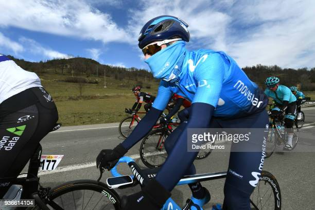 Alejandro Valverde Belmonte of Spain and Team Movistar / during the 98th Volta Ciclista a Catalunya 2018 Stage 4 a 1708km stage from LlanarsVall De...