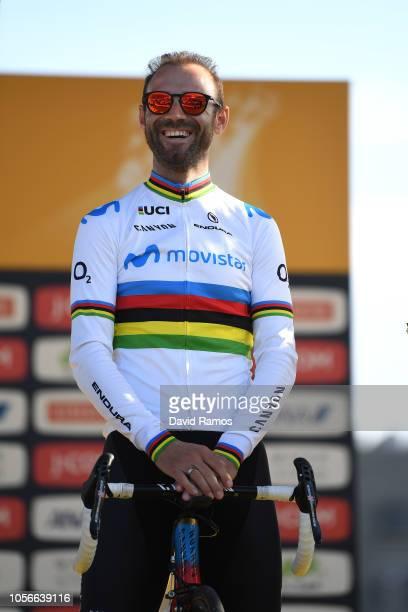 Alejandro Valverde of Spain and Movistar Team / during the 6th Tour de France Saitama Criterium 2018 - Media Day / Team Presentation / TDF / on...