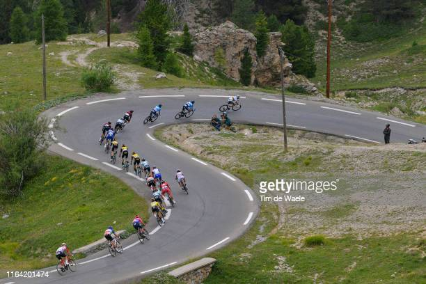 Alejandro Valverde of Spain and Movistar Team World Champion Jersey / Marc Soler of Spain and Movistar Team / Mikel Landa of Spain and Movistar Team...