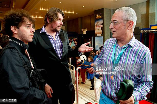 Alejo Moguillansky Florian Borchmeyer and Director Luis Minarro attends 'Falling Star' the Premiere as part of Filmfest Muenchen 2014 on June 29 2014...