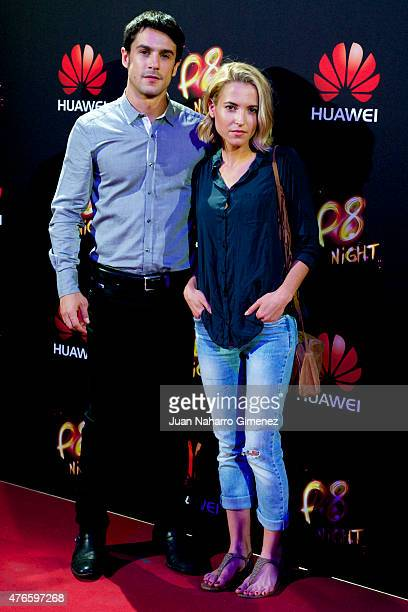 Alejo Sauras and Ana Fernandez attend the Huawei P8 presentation party at Bodevil theatre on June 10 2015 in Madrid Spain