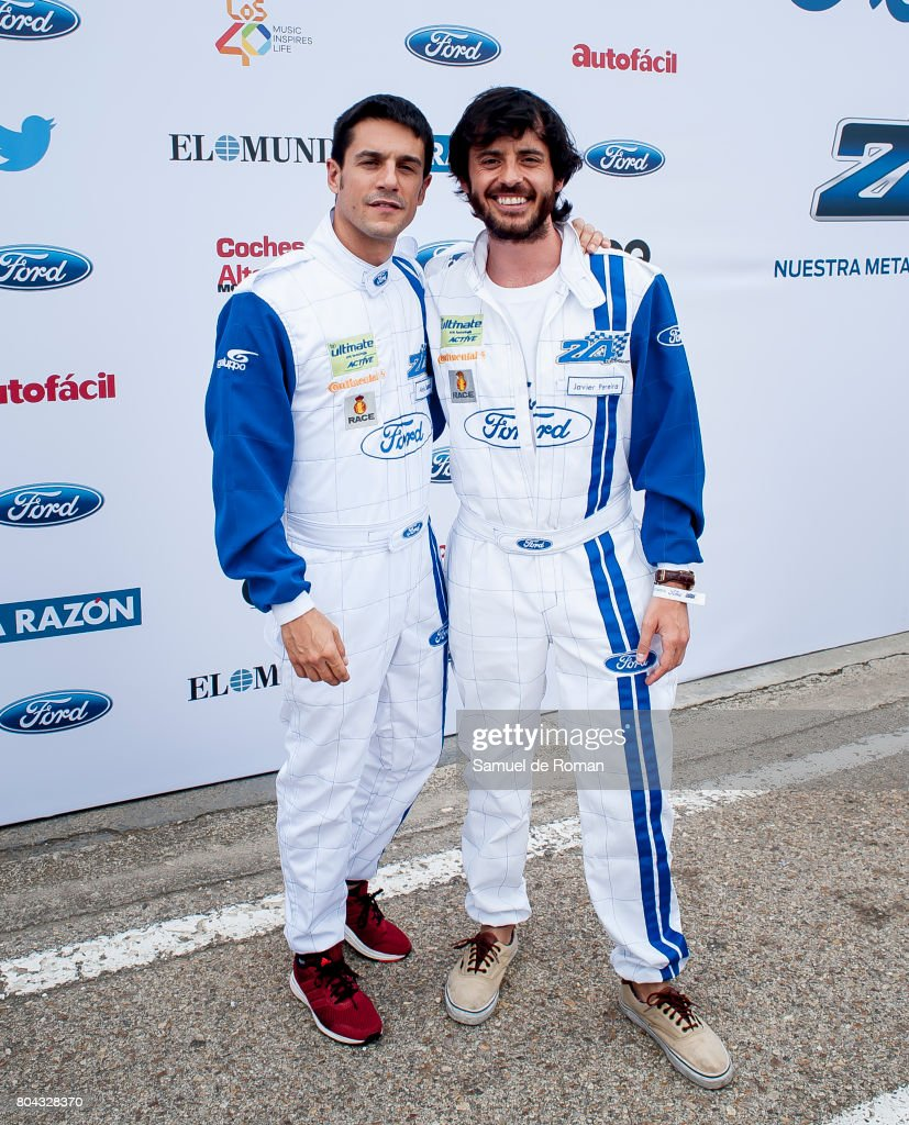 ¿Cuánto mide Javier Pereira? Alejo-sauras-and-javier-pereira-during-the-24-horas-ford-event-in-on-picture-id804328370