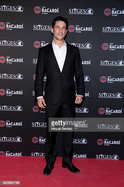Alejo Sauras attends a photocall for the 'Bacardi Sitges' Awards 2015 held at the Casa Bacardi during the '48th Sitges Film Festival 2015' on October...