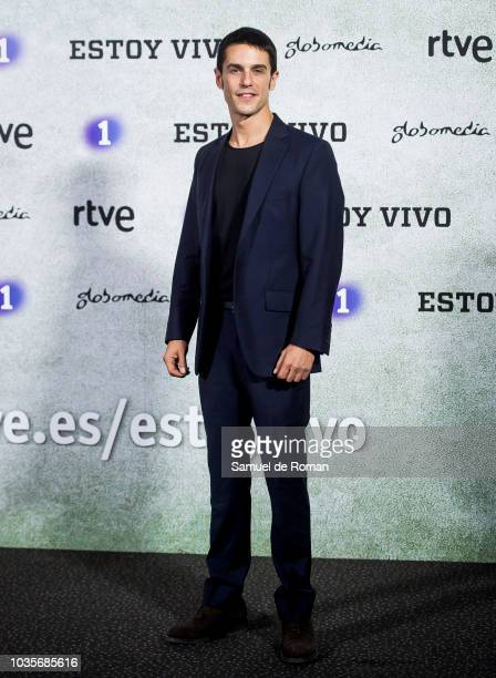 Alejo Sauras attends during Estoy Vivo' Madrid Premiere on September 18 2018 in Madrid Spain