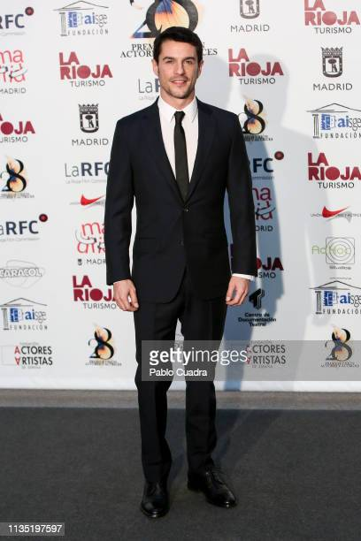 Alejo Sauras attends the 28th Union de Actores awards photocall at Circo Price on March 11 2019 in Madrid Spain