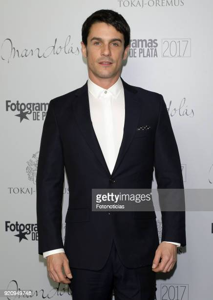 Alejo Sauras attends the 'Fotogramas de Plata' awards candidates dinner at The Santo Mauro Hotel on February 19 2018 in Madrid Spain