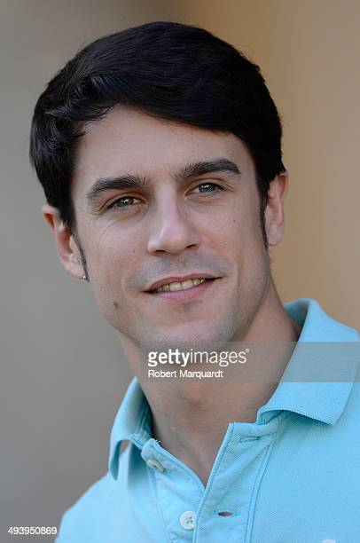 Alejo Sauras is seen on the set of his latest movie 'Solo Quimica' at the Antic Casino de Barcelona on May 26 2014 in Barcelona Spain