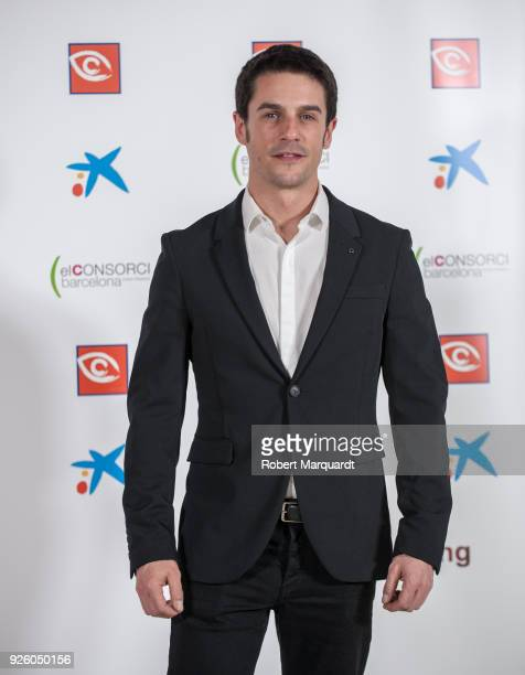 Alejo Sauras poses during a photocall for 'Zapping Awards 2018' held at the CaixaForum on March 1 2018 in Barcelona Spain