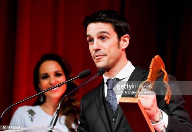 Alejo Sauras receives the 'Fotogramas Awards' at Joy Eslava on February 26 2018 in Madrid Spain