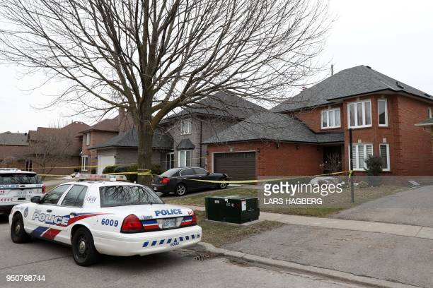 Alek Minassian's house is seen in Richmond Hill Ontario on April 24 2018 A van driver who ran over 10 people when he plowed onto a busy Toronto...
