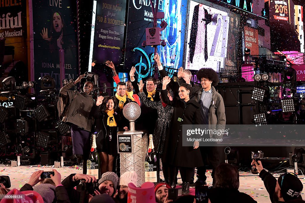 Times Square New Year's Eve Official Charity Partner, International Rescue Committee : News Photo