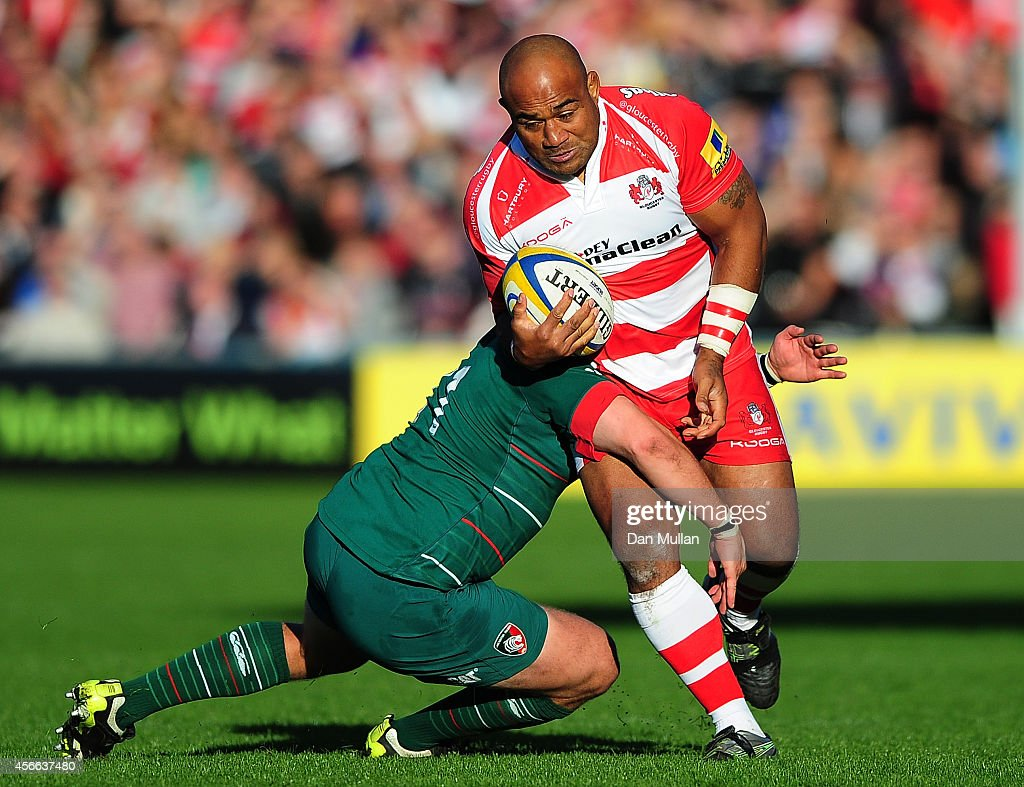 Gloucester Rugby v Leicester Tigers - Aviva Premiership : News Photo