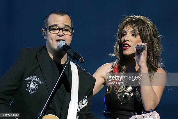Aleks Syntek and Soraya during 2005 Billboard Latin Music Awards Show at Miami Arena in Miami Florida United States