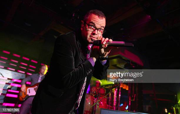 Aleks Syntek at the Latin GRAMMY Acoustic Session at Enclave on September 29 2011 in Chicago Illinois