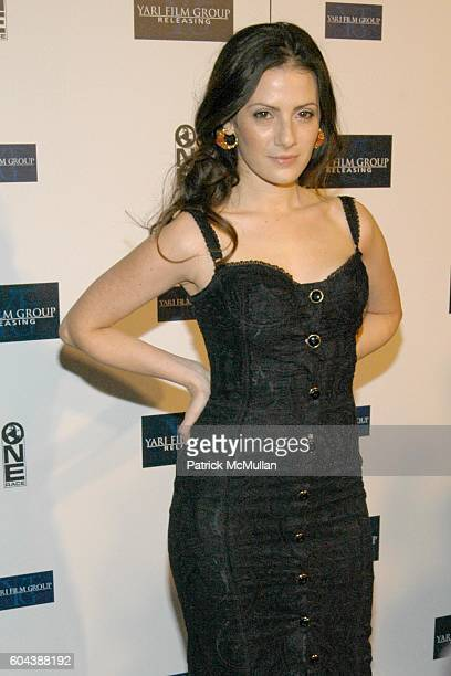 Aleksa Palladino attends New York Premiere of 'Find Me Guilty' at Sony Lincoln Square on March 14 2006 in New York City