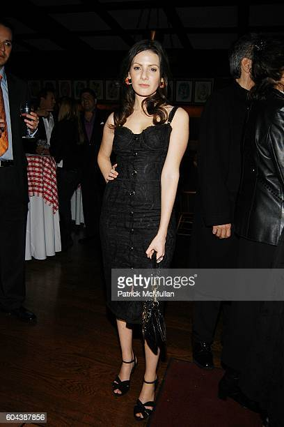 Aleksa Palladino attends Premiere of Sidney Lumet's FIND ME GUILTY after Party at Gallagher's Steakhouse on March 14 2006 in New York City