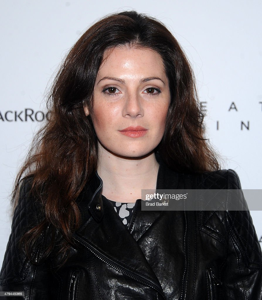 Aleksa Palladino attends the 'Breathe In' premiere at Sunshine Landmark on March 18, 2014 in New York City.