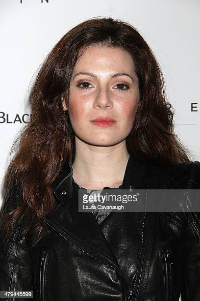 Aleksa Palladino attends the 'Breathe In' premiere at Sunshine Landmark on March 18 2014 in New York City
