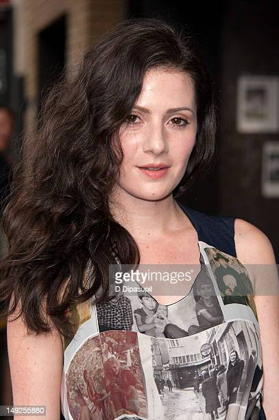 Aleksa Palladino attends 'The Campaign' New York Premiere at Sunshine Landmark on July 25 2012 in New York City